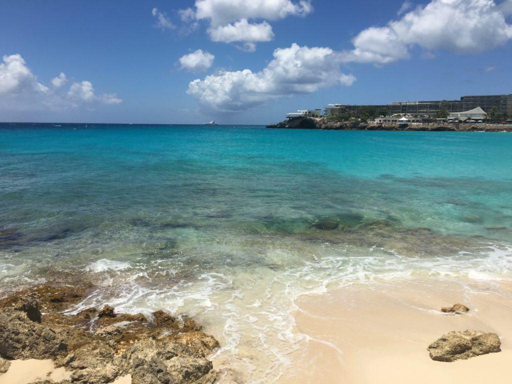 1. Maho beach