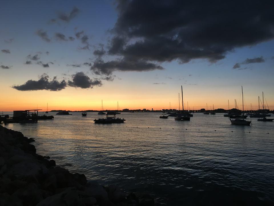 7.Entardecer em Simpson Bay